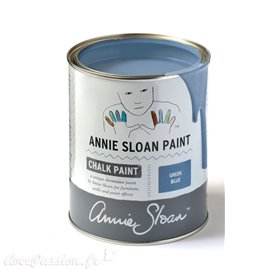 Peinture Chalk Paint Annie Sloan Greek Blue 1L