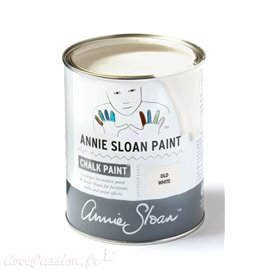 Peinture Chalk Paint Annie Sloan Old White 1L
