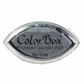 Encreur tampon Color Box oeil de chat sky gray