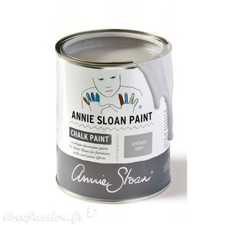 Peinture Chalk Paint Annie Sloan Chicago Grey 1L