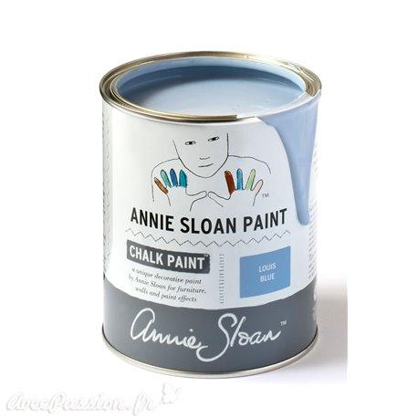 Peinture Chalk Paint Annie Sloan Louis Blue 1L