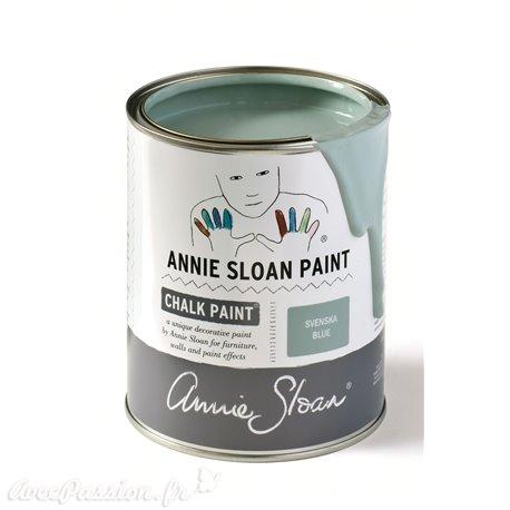 Peinture Chalk Paint Annie Sloan Svenska Blue 1L