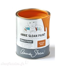 Peinture Chalk Paint Annie Sloan Barcelona Orange 1L