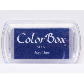 Encreur tampon Color Box mini royal blue