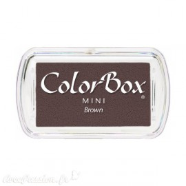 Encreur tampon Color Box mini brown