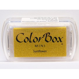Encreur tampon Color Box mini sunflower