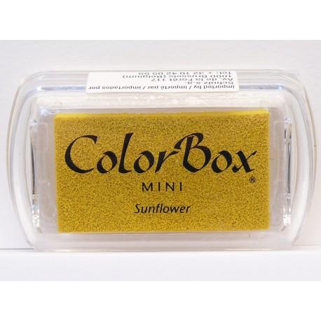 Encreur tampon Color Box mini sunflower