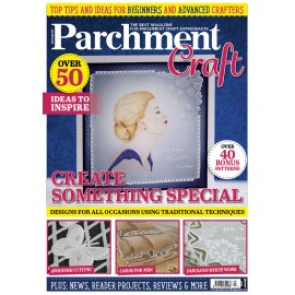 Parchment Craft magazine Pergamano mars/avril 2020 Create something special