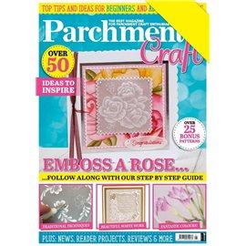 Parchment Craft magazine Pergamano mai/juin 2020 Emboss a Rose