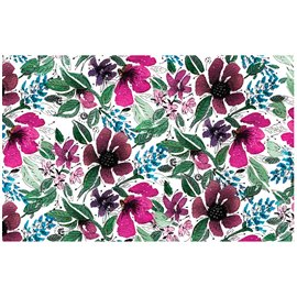 Papier de murier mulberry imprimé Redesign 48x76cm Flora