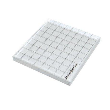 Bloc acrylique pour tampons clear stamps 1p