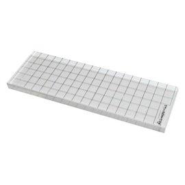 Bloc acrylique rectangulaire pour tampons clear stamps 1p