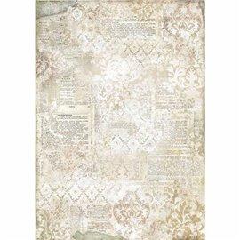Papier de riz Stamperia 42x30cm papier peint arabesques