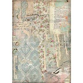 Papier de riz Stamperia 21x29,7cm Wallpaper