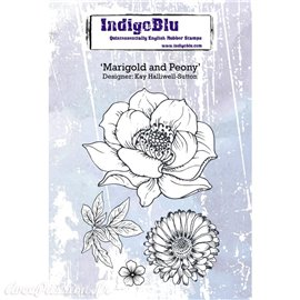 IndigoBlu Marigold and Peony A6 (IND0370)