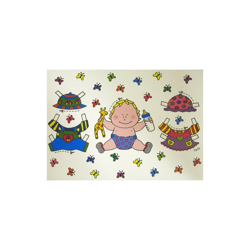 Carte postale bebe - Ziloo.fr