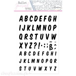 Tampon mousse Aladine Alphabet 2 italique 62p