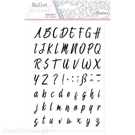 Tampon mousse Aladine Alphabet cursive 1 62p