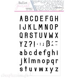 Tampon mousse Aladine Alphabet 3 62p