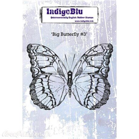 Tampon caoutchouc IndigoBlu Big Butterfly 3 A6