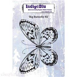 Tampon caoutchouc IndigoBlu Big Butterfly 2 A6