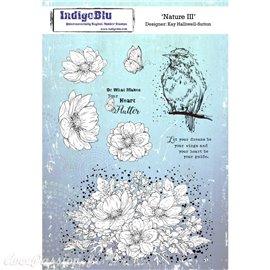 Tampon caoutchouc IndigoBlu Nature III A5