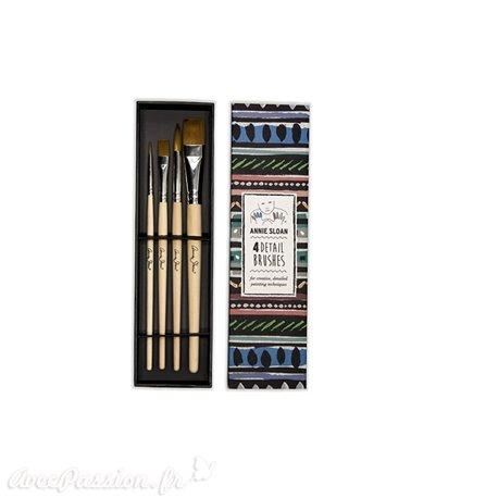 Pinceau Annie Sloan Detail Brushes Set