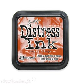 Encre distress Ranger Tim Holtz rusty hinge