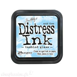 Encre distress Ranger Tim Holtz tumbled glass