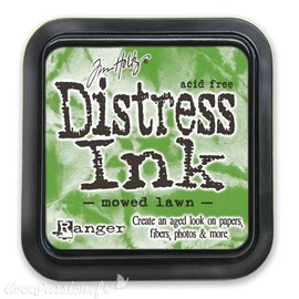Encre distress Ranger Tim Holtz mowed lawn
