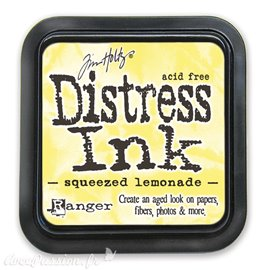 Encre distress Ranger Tim Holtz squeezed lemonade