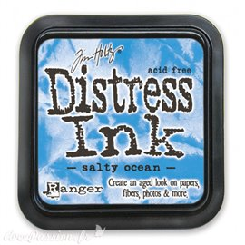 Encre distress Ranger Tim Holtz salty ocean
