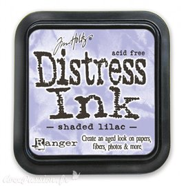 Encre distress Ranger Tim Holtz shaded lilac