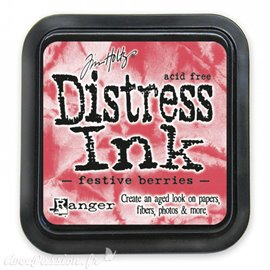 Encre distress Ranger Tim Holtz festive berries