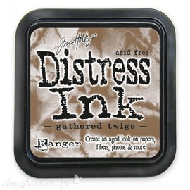 Encre distress Ranger Tim Holtz gathered twigs