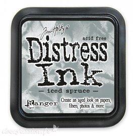 Encre distress Ranger Tim Holtz iced spruce