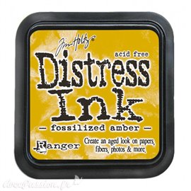Encre distress Ranger Tim Holtz fossilized amber