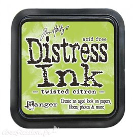 Encre distress Ranger Tim Holtz twisted citron
