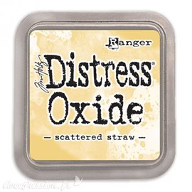Encre distress Oxide Ranger Tim Holtz scattered straw