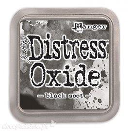 Encre distress Oxide Ranger Tim Holtz black soot