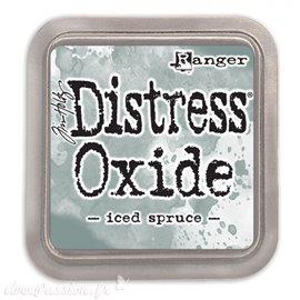 Encre distress Oxide Ranger Tim Holtz iced spruce