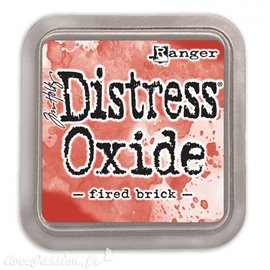Encre distress Oxide Ranger Tim Holtz fired brick