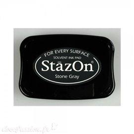 Encre Stazon permanente Stone Grey