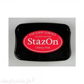 Encre Stazon permanente Cherry Pink