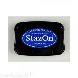 Encre Stazon permanente Ultramarine