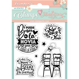 Tampon clear stamps motifs toda la vita 6 tampons