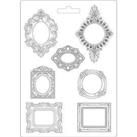 Moule décoratif thermoformé Stamperia frames stampo