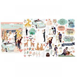Die Cuts en carton love story