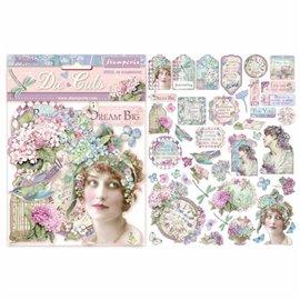 Die Cuts en carton hortensia