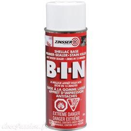 Primaire anti tanin anti odeur Zinsser BIN 400ML résine shellac intérieur aérosol